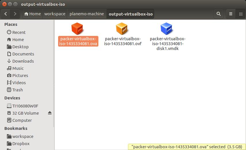 Virtual Appliance — Planemo 0 61 0 dev0 documentation